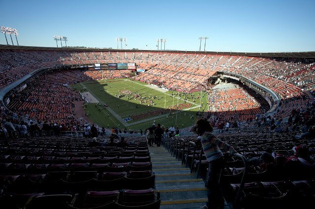 San Francisco 49ers Light Blue Seats