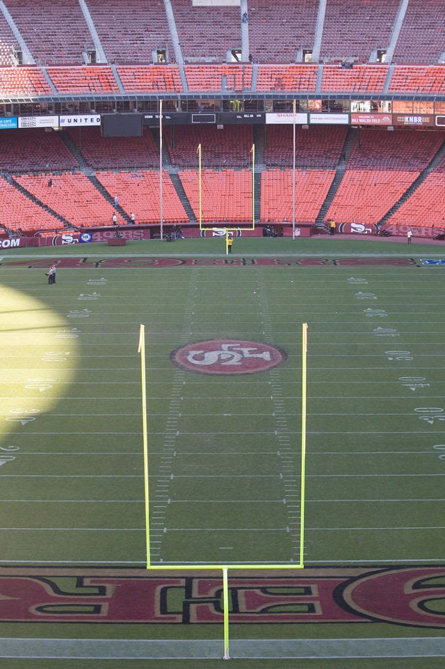 San Francisco 49ers Charcoal Seats