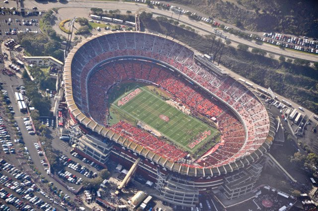 Candlestick Park Home of the San Francisco 49ers