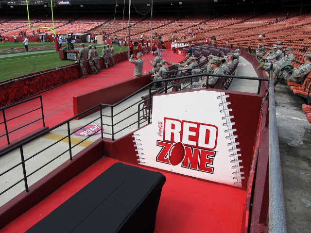 San Francisco 49ers Red Zone